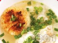 Рецепта Мадридска чеснова супа с телешки аромат